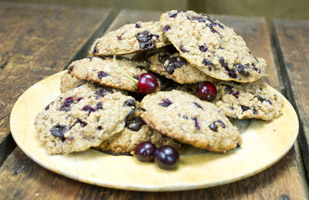 Canadian Maple Chocolate Cherry Red Fife Scones